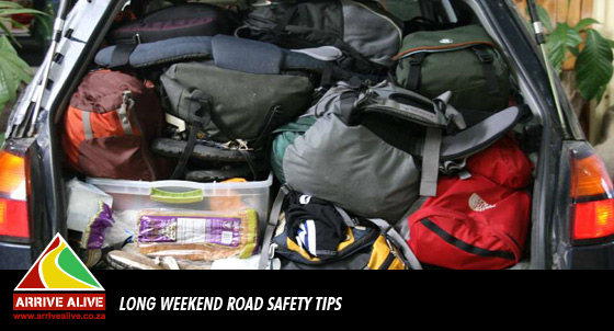 Advice and Suggestions for Road Safety over the Long Weekend
