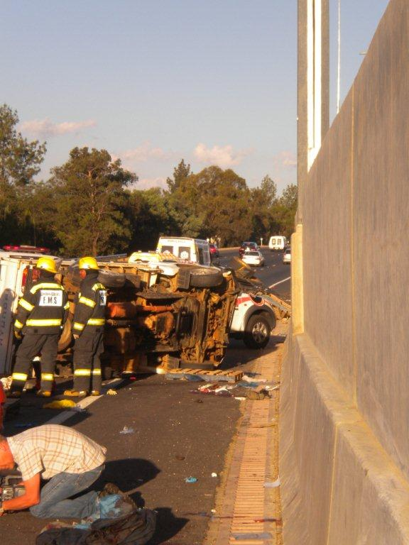 One Killed - Several Injured in Collision near William Nicol on N1