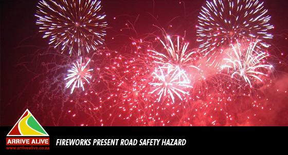 Fireworks present a threat to animals and road safety