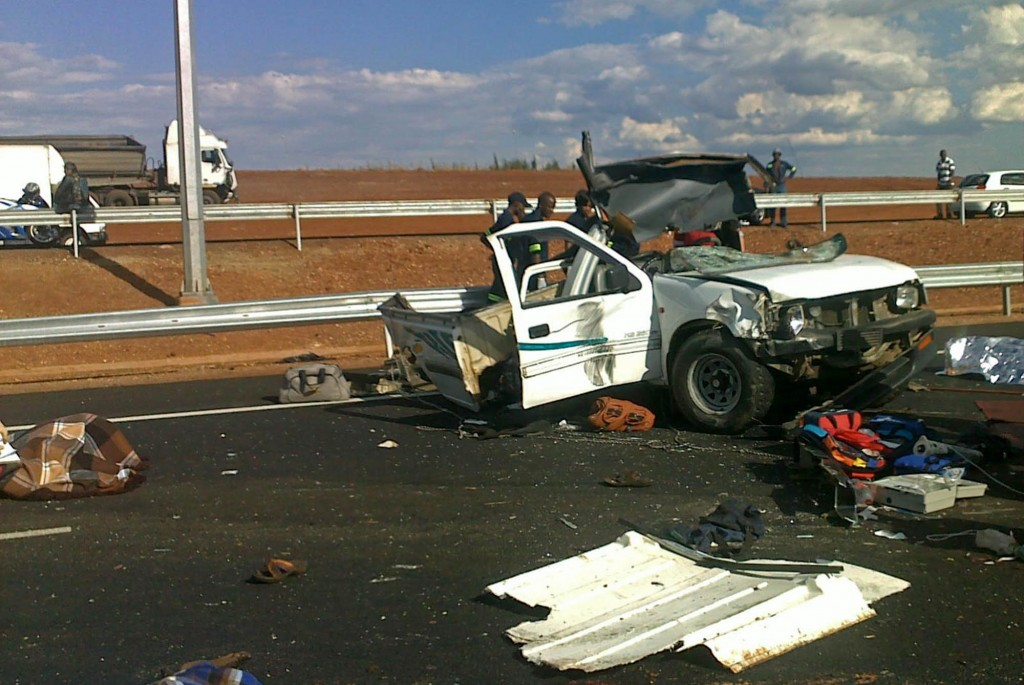 Photo from horrific accident on R21