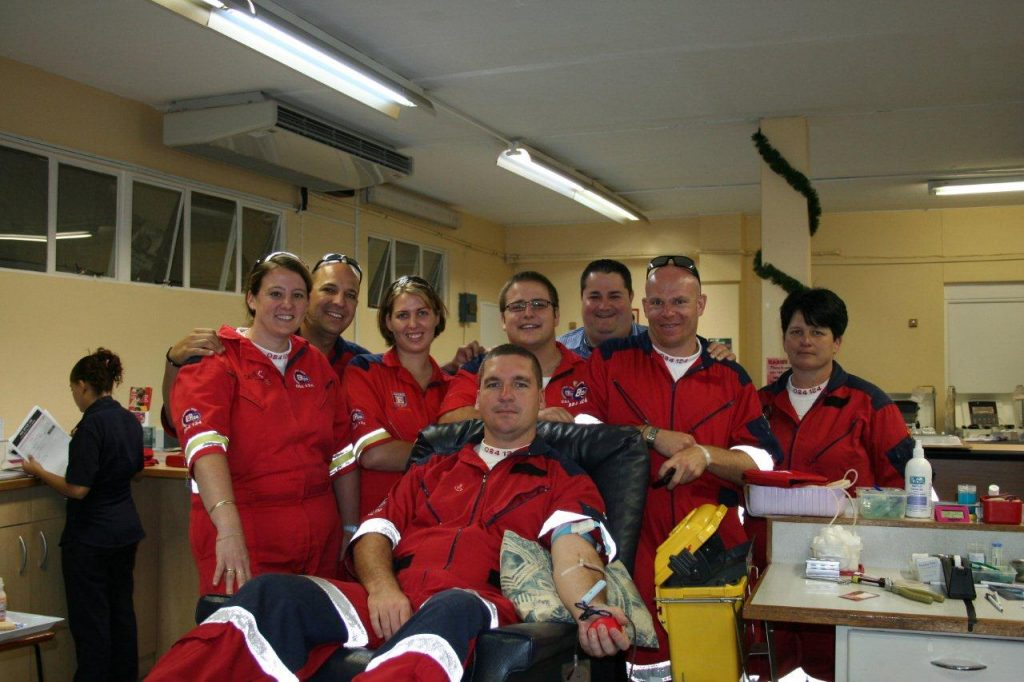 ER24 Paramedics Help With Blood Drive