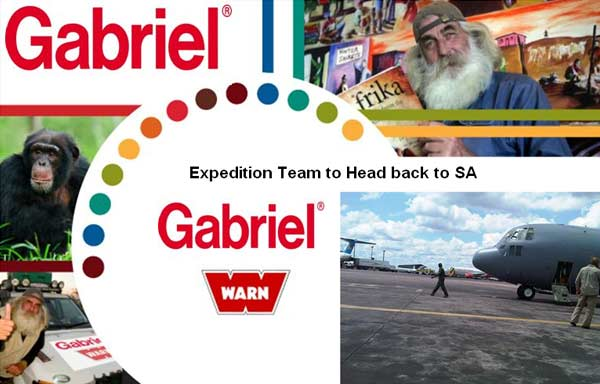 Gabriel's Humanitarian Expedition Team Accomplishes Mission Into Africa