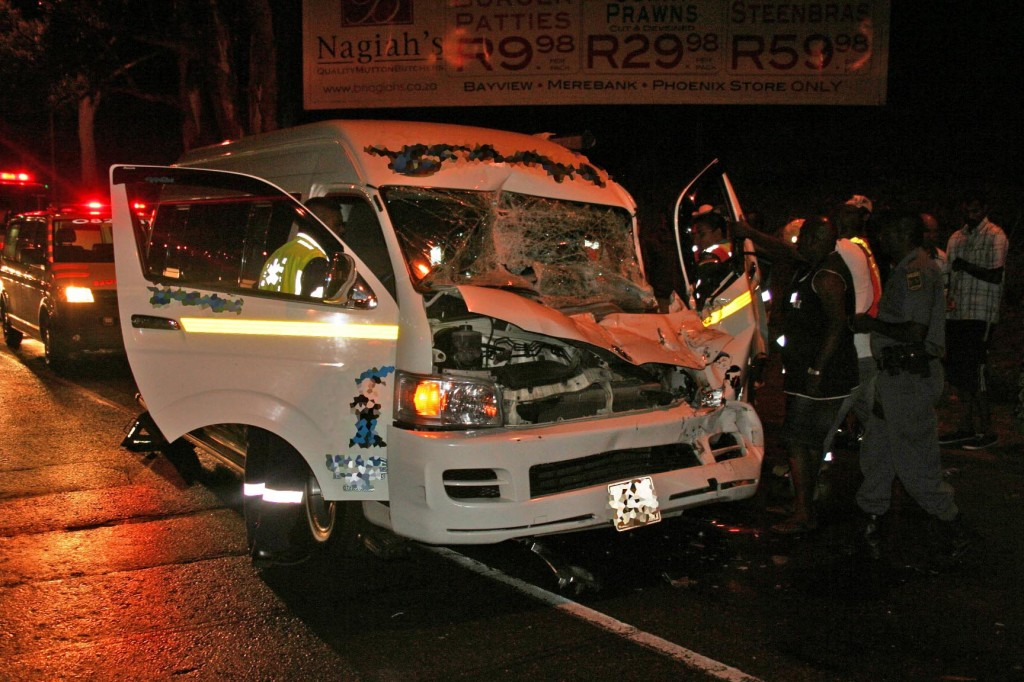 Man fights for life after Chatsworth taxi crash