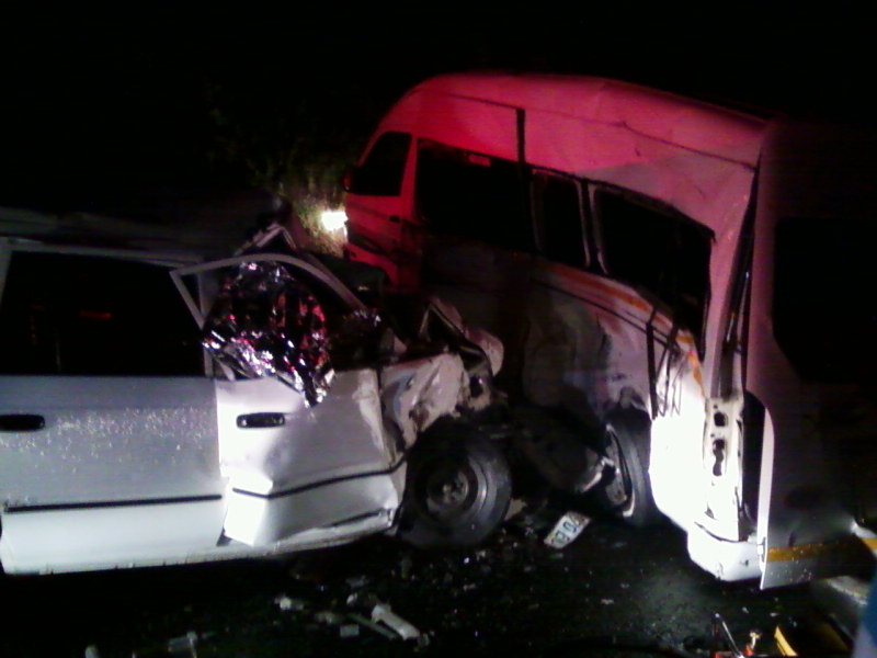 One Dead, One Critical After Collision outside Kokstad