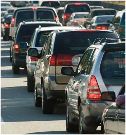 Vehicle navigation and car insurance can reduce both travel time and CO2 emissions