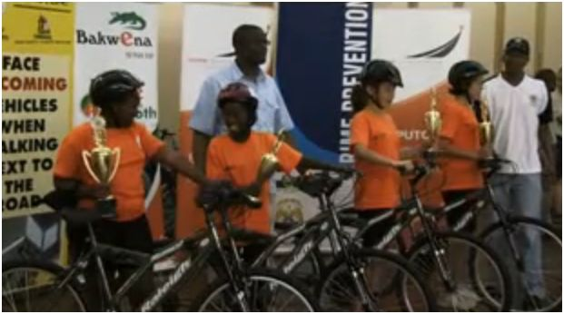 Gauteng Community Safety focuses on cycling safety for children!!