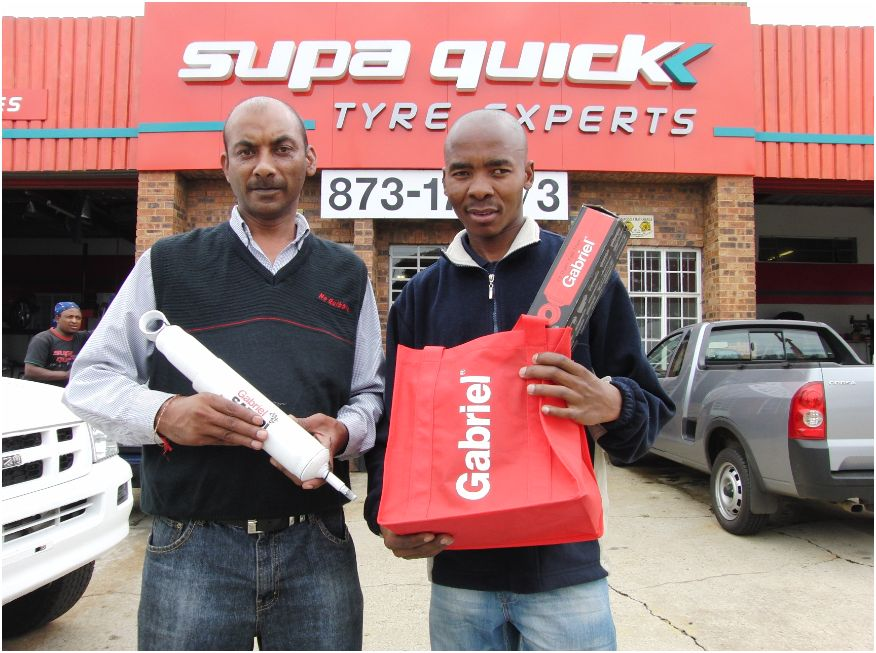 Gabriel / Imperial Autoworld Magazine Reward Road Users with Shock Absorbers