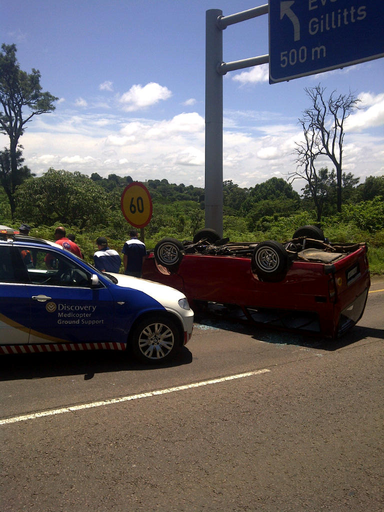 Taxi Accident Leaves Eight Injured