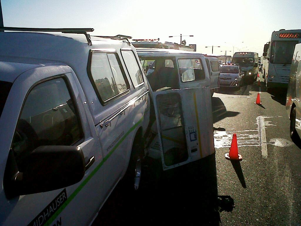 12 Injured in Accident as Taxi crashes into vehicle at speed on N2 Highway