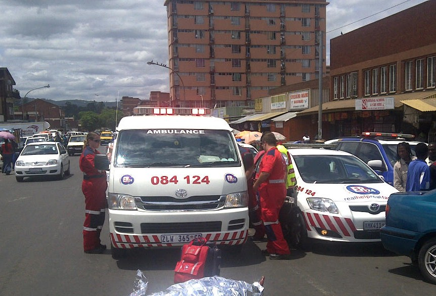 Pedestrian Knocked Down And Killed in Pietermaritzburg CBD