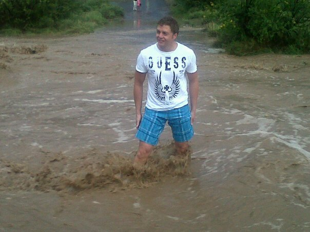Don't guess the depth of the water you drive through!!