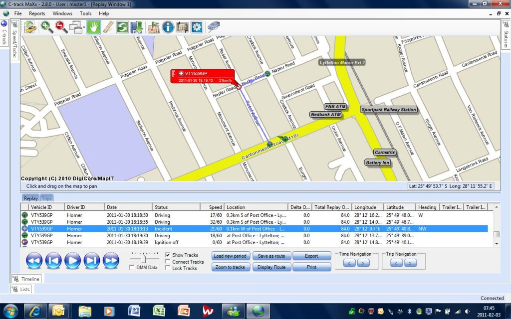 C-track Vehicle tracking technology helps fleet owners streamline accident management