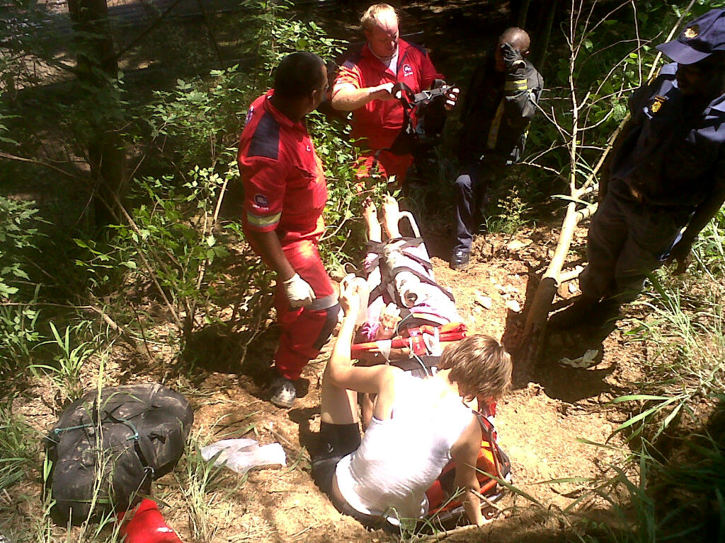 Woman Injured in Grass Cutting Accident