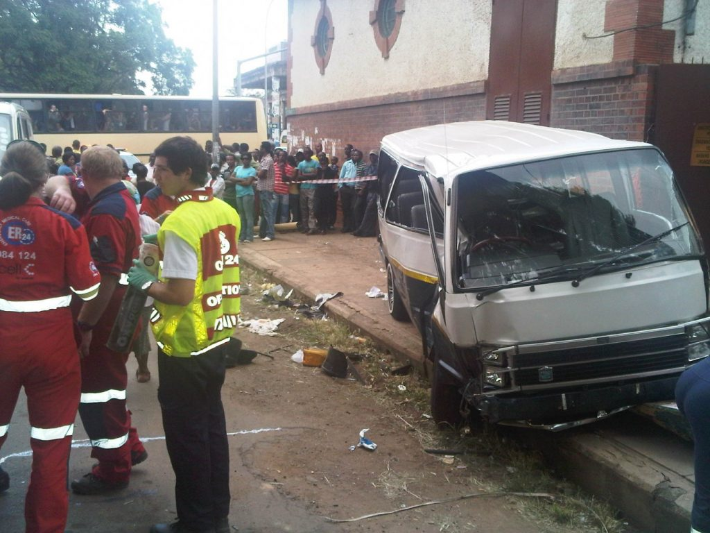 Sixteen Injured In Collision in Pietermaritzburg