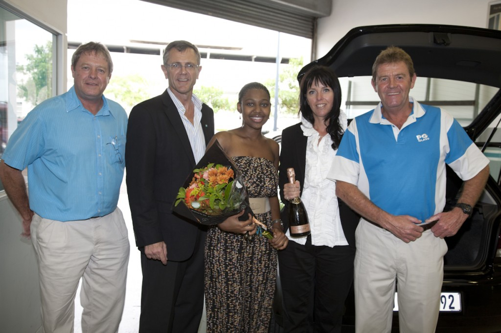 Umhlanga woman wins car in PG Glass road safety competition