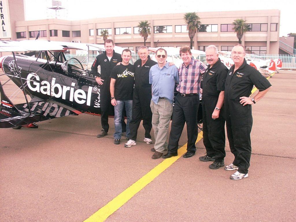 94.7 DJ Paul Rotherham takes a flight in the Gabriel Aerobatic stunt plane