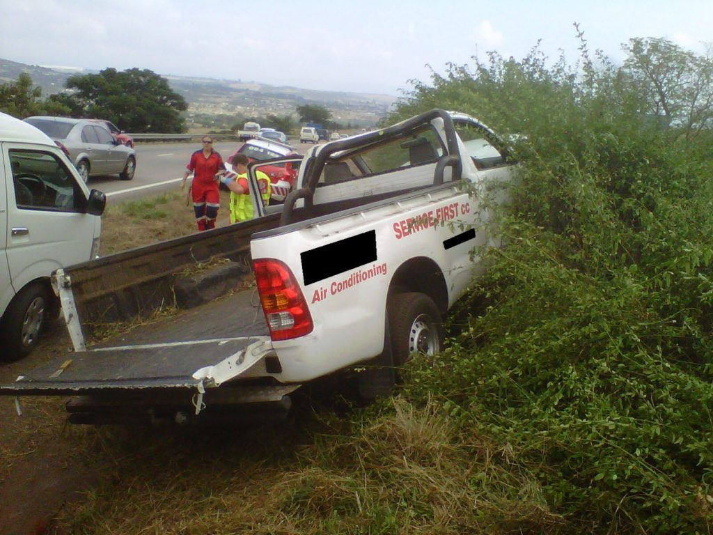 Driver And Passenger Escape With Minor Injuries on N3