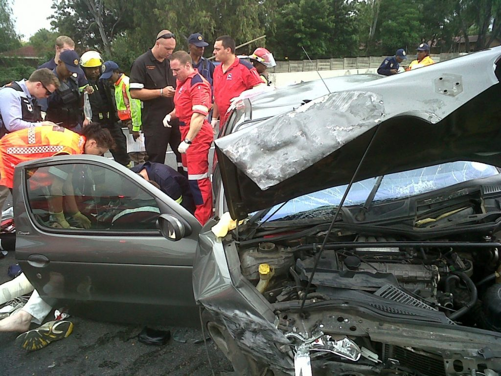 Man Critically Injured in Vehicle Accident on N1 near William Nicol Drive