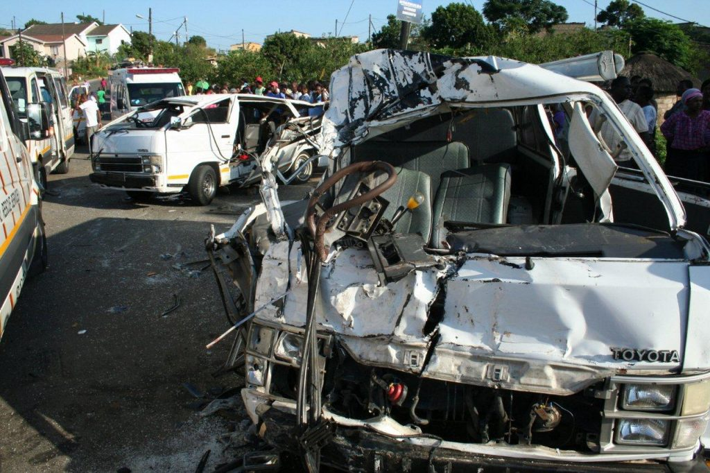 46 People Injured In Two Separate Taxi Accidents