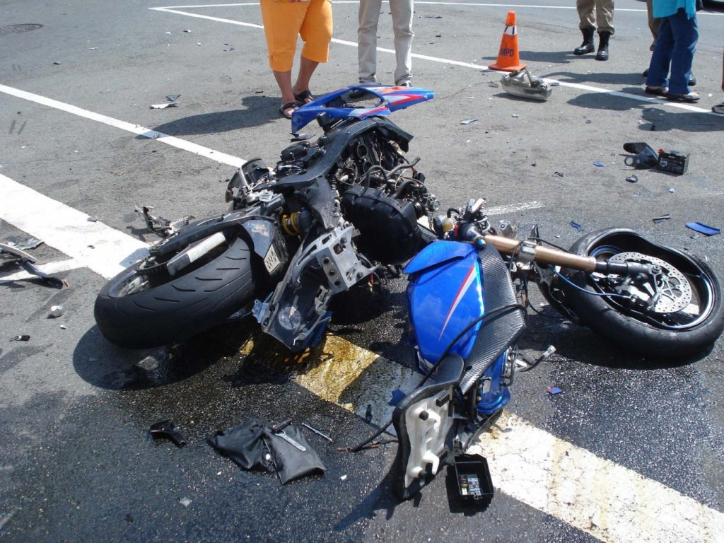 Young Man Critically Injured in Motorbike Accident