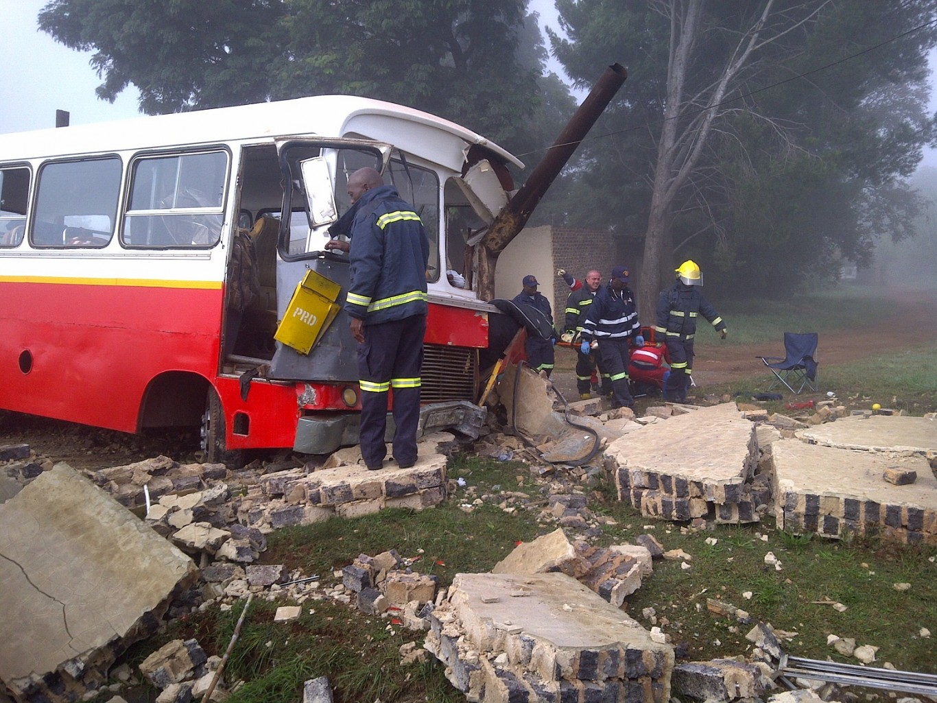 Kpn bus accident photos Behind the Scenes on a