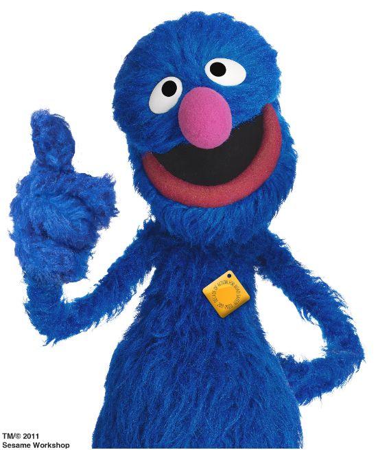 Sesame Street's Grover on mission to make world's roads safe