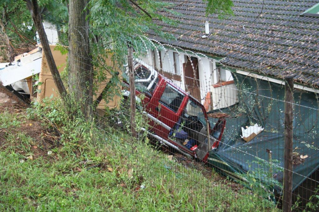 Electricity Cut To Residences in New Germany After Accident