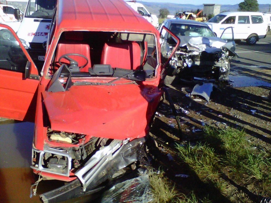 Collision Leaves School Pupils Injured