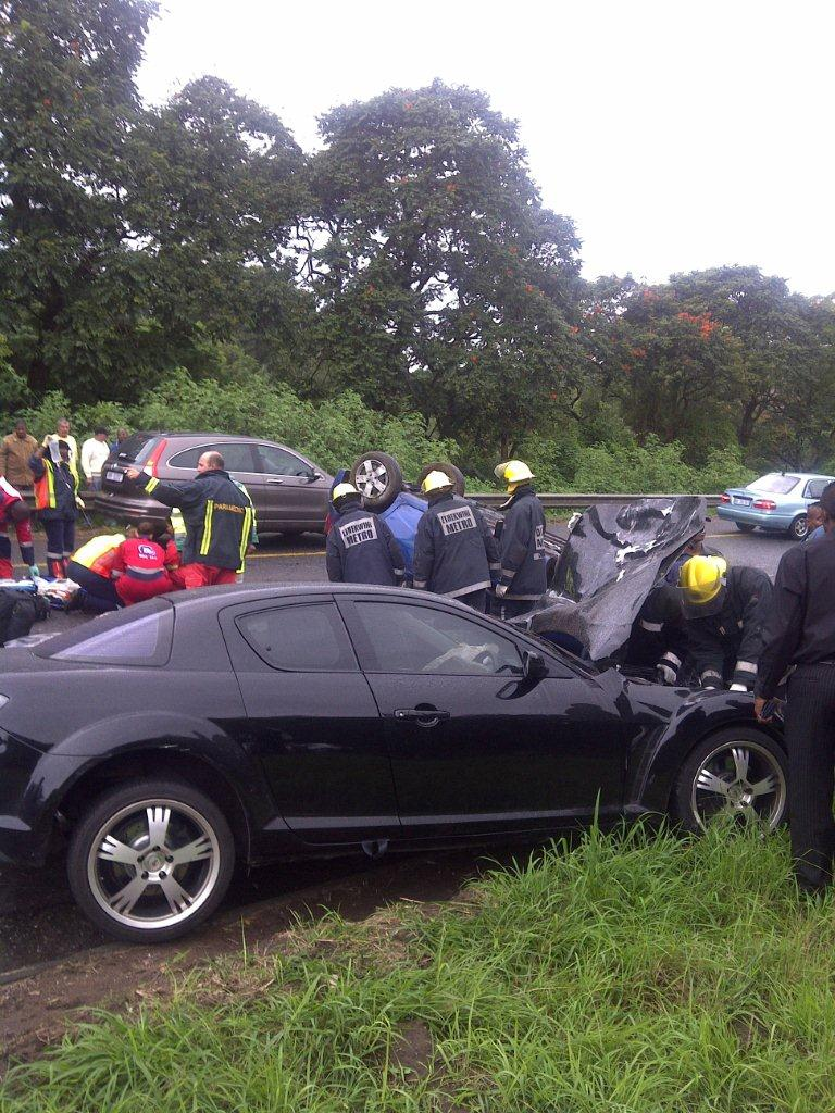 Head On Collision in Durban Leaves On Dead, Another Critical