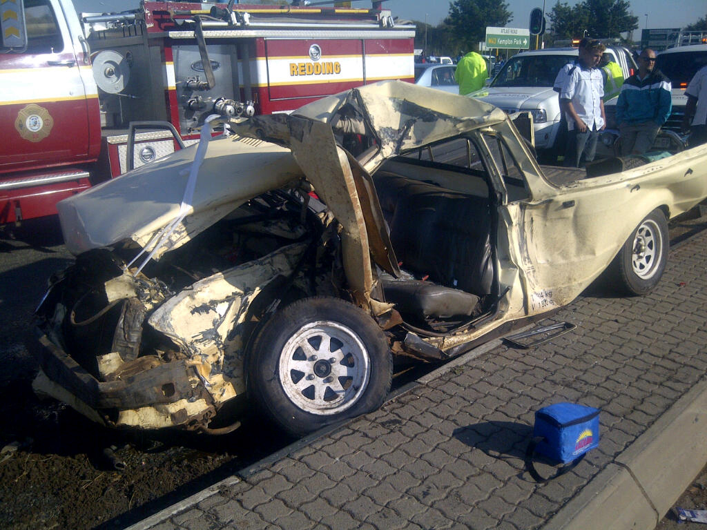 4 Men Die in Benoni Accident