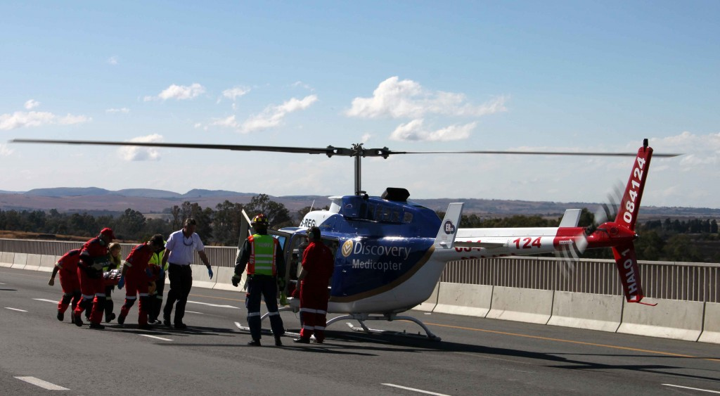 Teen Knocked By Taxi Airlifted to Hospital