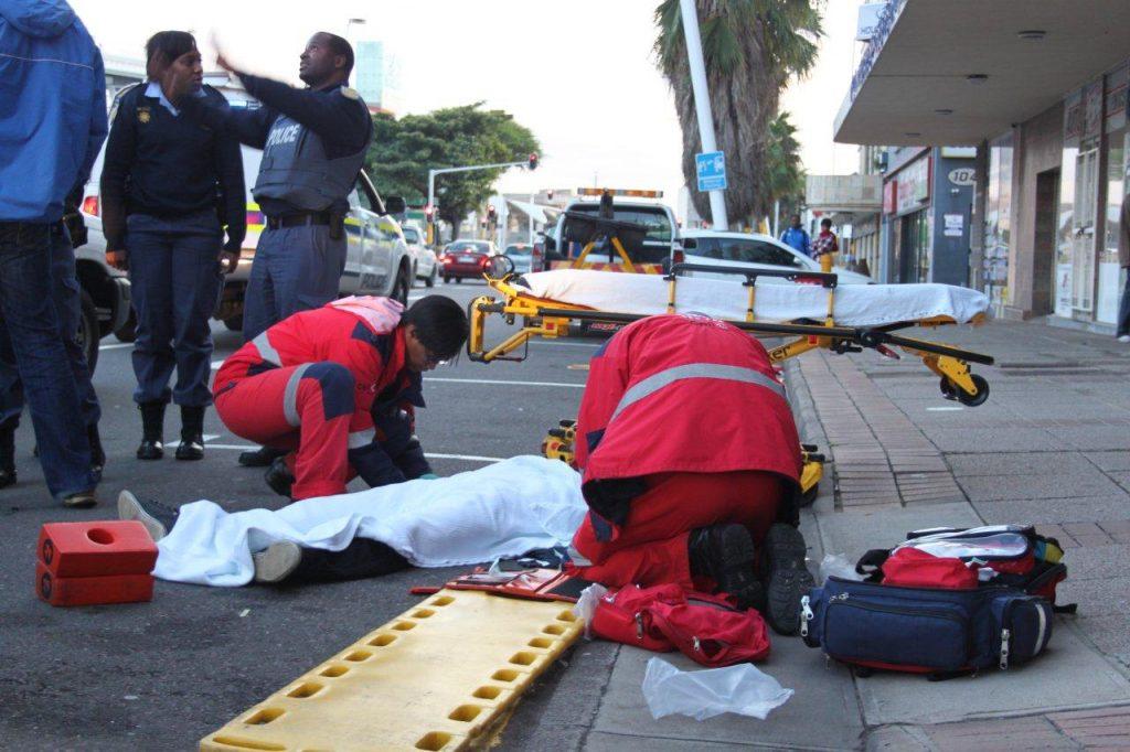 Pedestrian Knocked Down In Durban CBD