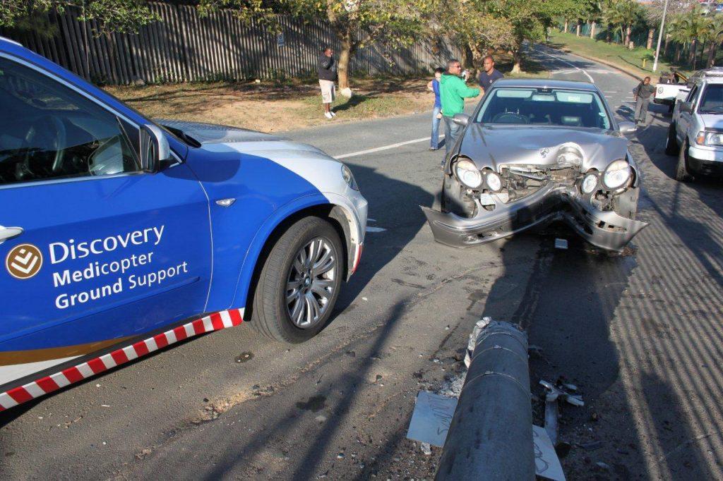 Female Passenger Injured In Crash at Galway outside Durban