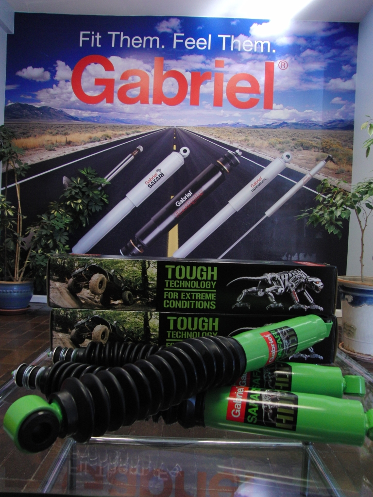 Gabriel Safari HDP shock manufactured in South Africa for heavy duty performance requirements