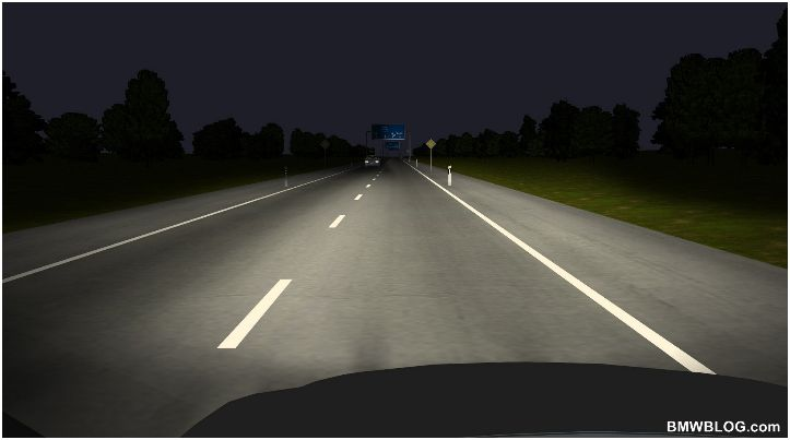 BMW innovations in vehicle lights could improve night time driving