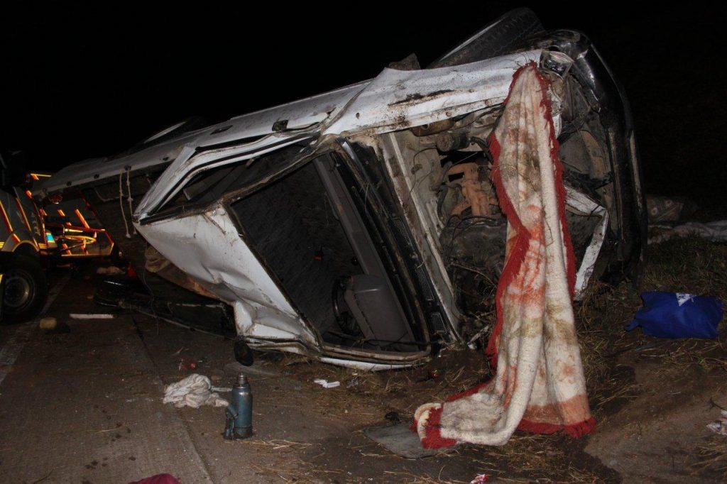 Eighteen Injured In Bakkie Accident on N3