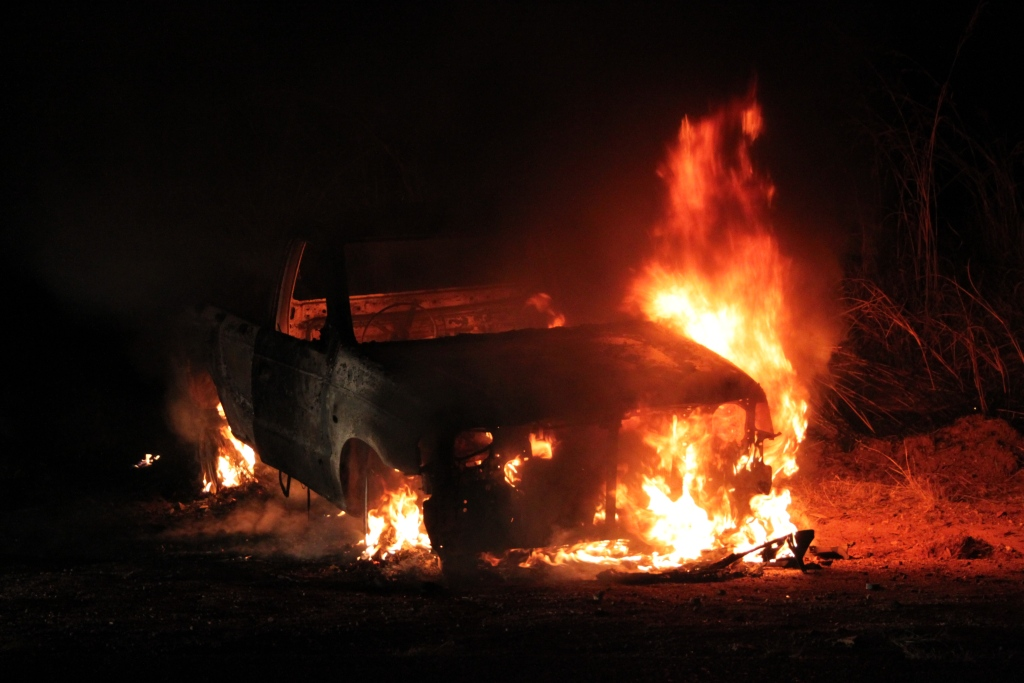 Be Alert to the reality of Vehicle Fires