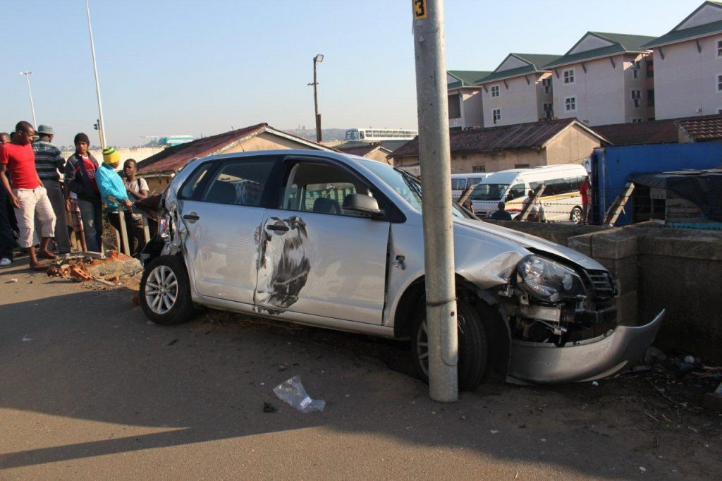 Driver And Passenger Injured In Collision