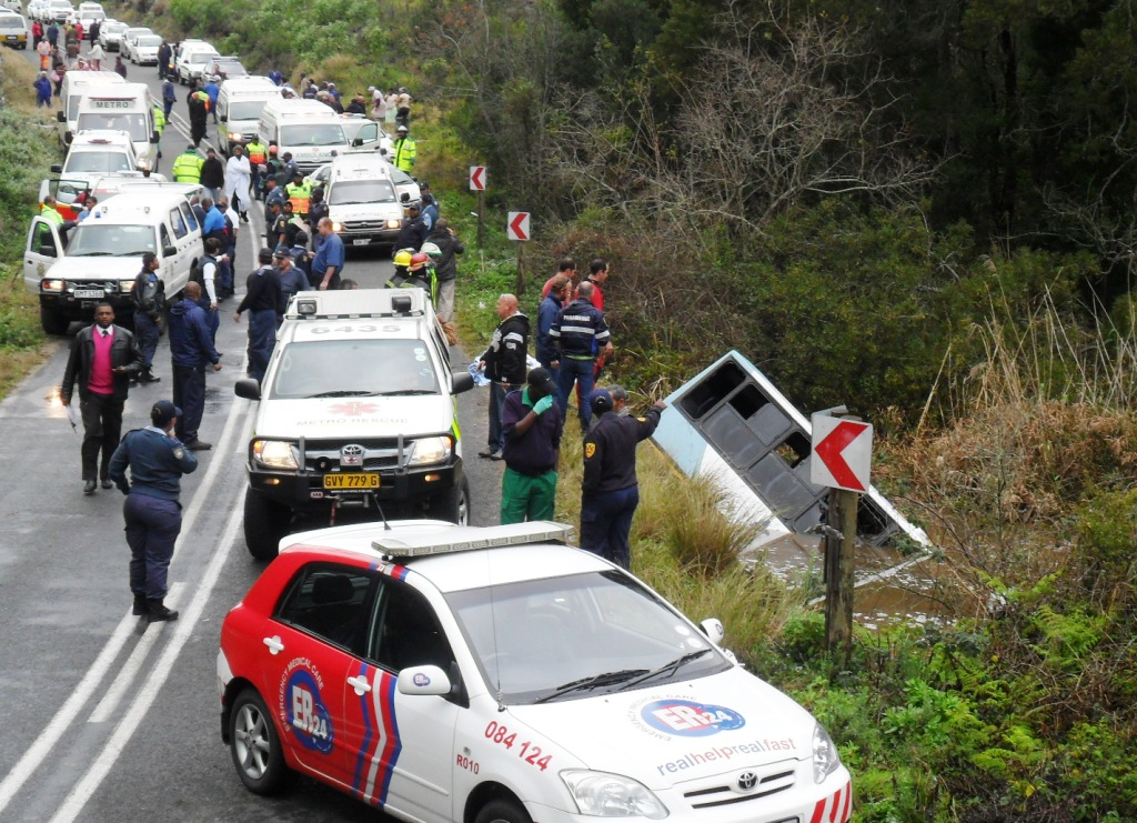 Photo after Horific Bus Accident in Knysna