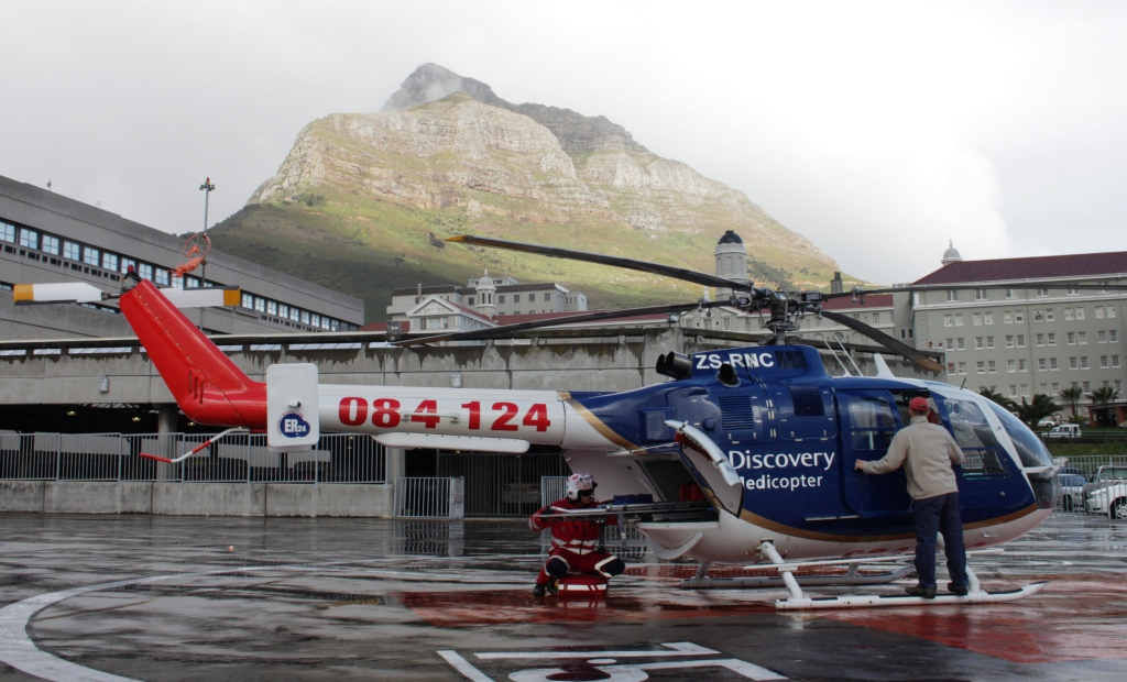 Motorcyclist airlifted after Kalk Bay collision