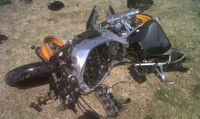 Motorbike Accident Kills One in Springs