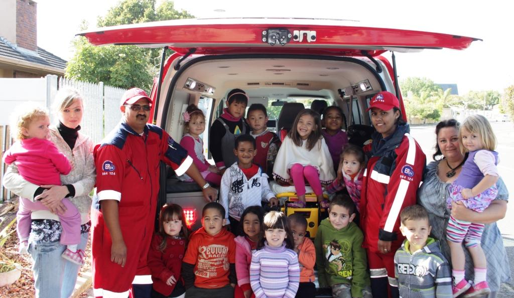 ER24 visits the On The Corner day care