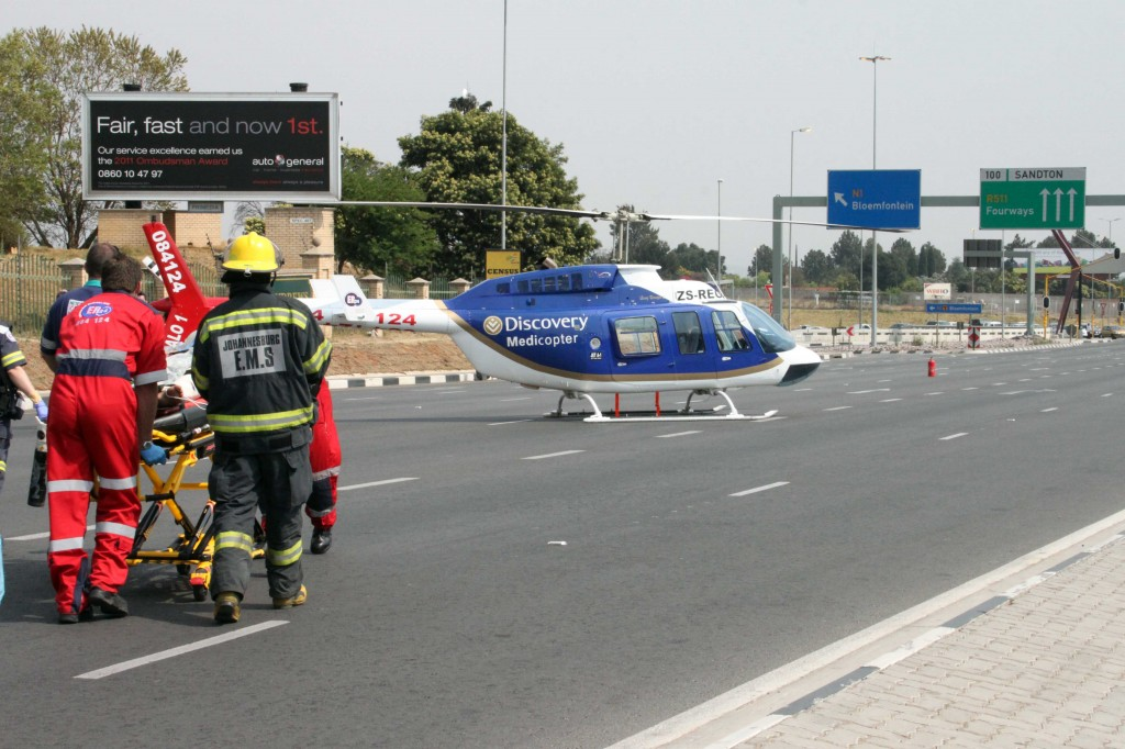 Pregnant woman knocked over in Bryanston