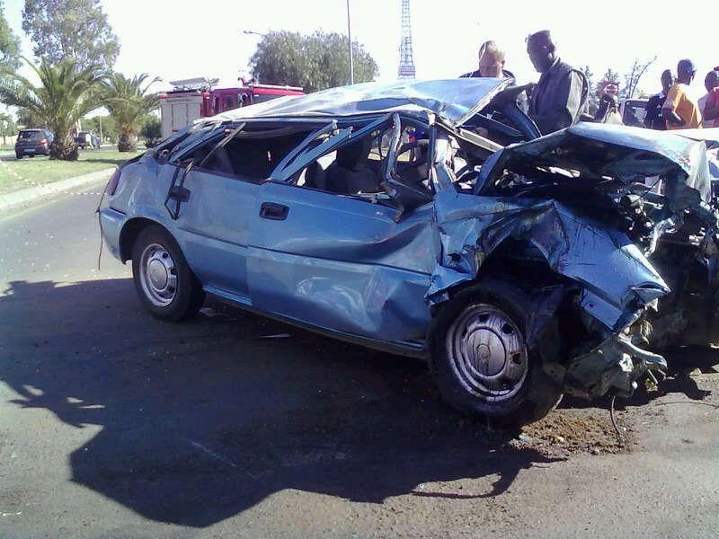 Roll-over Injures Five in Bloemfontein