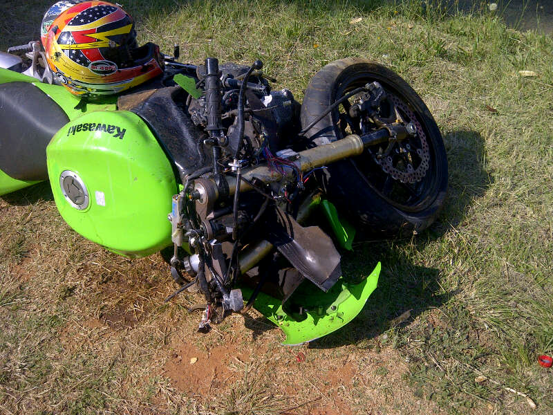 Motorbike Accident Leaves One Dead and Another Critical