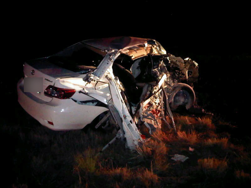N5 Accident between Senekal and Paul Roux Leaves Couple With Serious Injuries