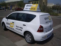 Quick Cab a safe and reliable transport option 24/7