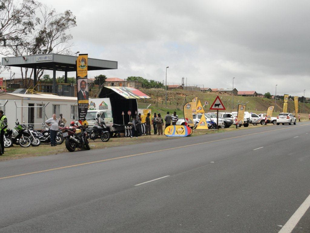 Bikers and Transport Officials combine in road safety initiative in KZN