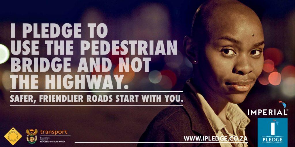 Let us all pledge to be safer pedestrians!!