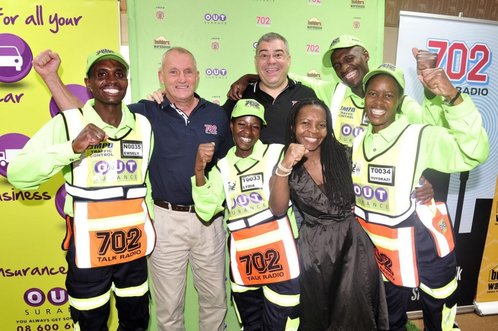 Talk Radio 702 and OUTsurance OUTshine awards for our Best Pointsmen